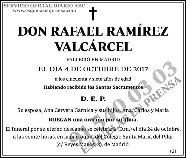 Rafael Ramírez Valcárecel